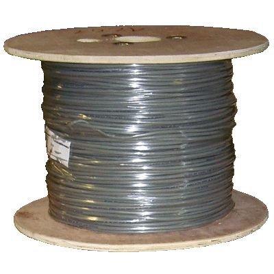 DATACOM kabel drát C6 FTP LS0H 305m cívka šedý