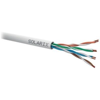 Síťový kabel Solarix SXKL-5E-UTP-PVC-GY