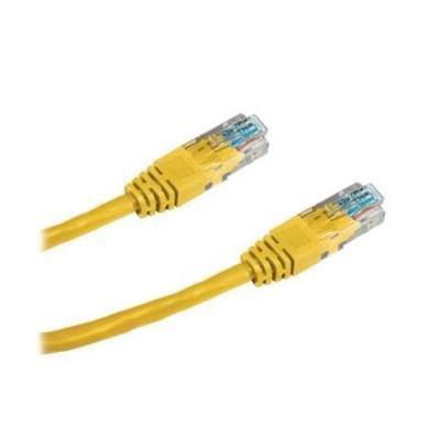 Patch kabel WaveRF UTP CAT5e 10m žlutý