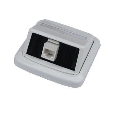 Datová zásuvka ABB Tango UTP cat.5e 1x RJ45 WHkey