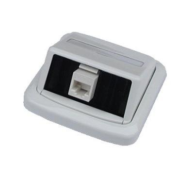 Datová zásuvka ABB Tango UTP cat.6 1x RJ45 WHkey