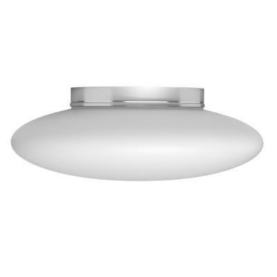 IMMAX NEO ELIPTICO stropní svítidlo bílé sklo 50cm včetně Smart zdroje 3xE27 RGBW