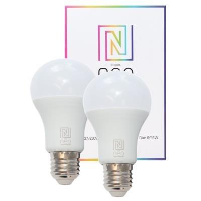 IMMAX NEO E27 9W RGBW 2ks