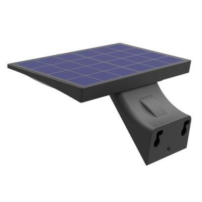 IMMAX LED reflektor solární s čidlem 4,2W černé