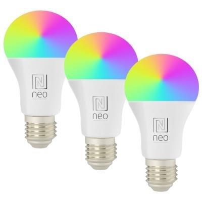 IMMAX NEO E27 11W RGB+CCT 3ks
