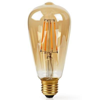 LED žárovka Nedis Wi-Fi Smart Bulb 5W zlatá