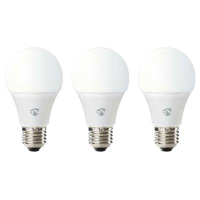 Nedis Wi-Fi Smart Bulb E27 9W 3ks