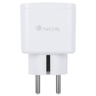 NGS Wi-Fi chytrá zásuvka / 100-240V/ Ovládání přes aplikaci