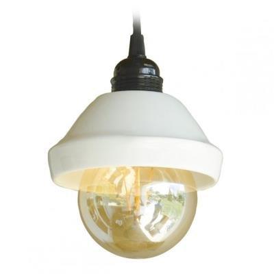 TESLA interiérové svítidlo/ porcelánové/ RENDLÍK/ 14,5x13 cm/ bílé