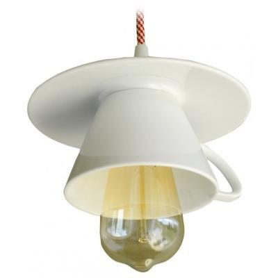 TESLA interiérové svítidlo/ porcelánové/ CAPPUCCINO/ 17x14 cm/ bílé