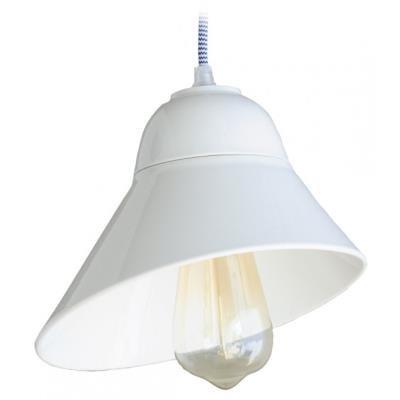TESLA interiérové svítidlo/ porcelánové/ GATSBY/ 21x16 cm/ bílé