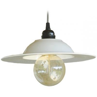 TESLA interiérové svítidlo/ porcelánové/ VINYL/ 27,5x12 cm/ černo - bílé