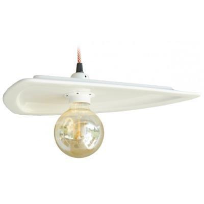 TESLA interiérové svítidlo/ porcelánové/ DISKUS/ 35x27x9 cm/ bílé