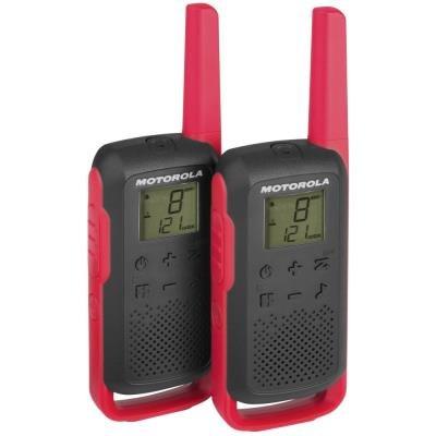 Vysílačka Motorola TLKR T62 2ks červená