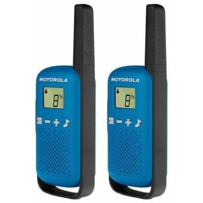 Motorola TLKR T42 modrá