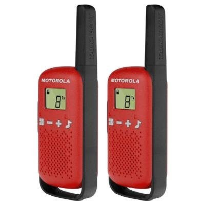 Motorola TLKR T42 červená