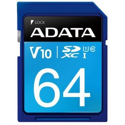 Paměťová karta ADATA Premier SDXC 64GB