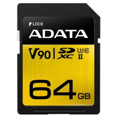 Paměťová karta ADATA Premier One SDXC 64GB