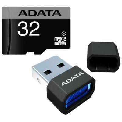 Paměťová karta ADATA Micro SDHC 32GB + USB čtečka