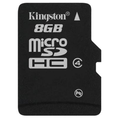 Paměťová karta Kingston Micro SDHC 8GB
