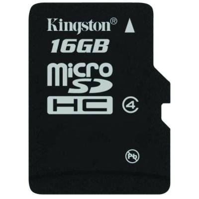 Paměťová karta Kingston Micro SDHC 16GB