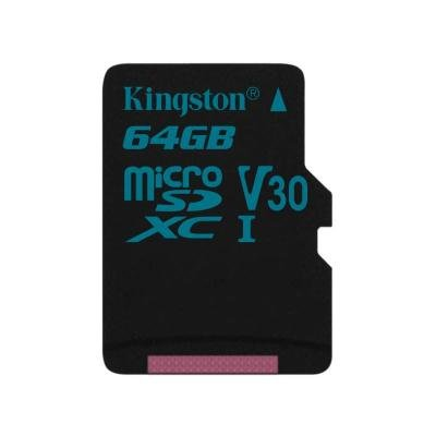 Paměťová karta Kingston Canvas Go Micro SDXC 64GB