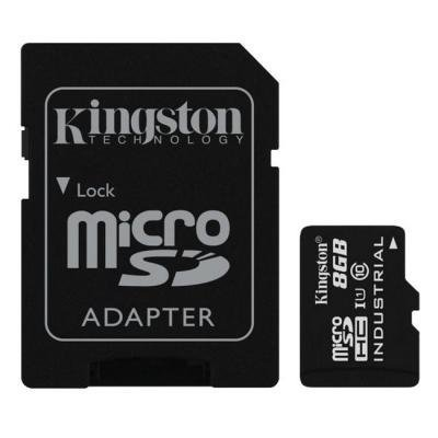 Paměťová karta Kingston Industrial Micro SDHC 8GB