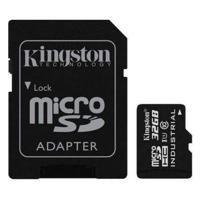 Paměťová karta Kingston Industrial Micro SDHC 32GB