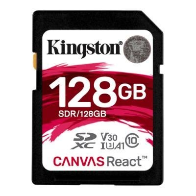 Paměťová karta Kingston Canvas React SDXC 128GB