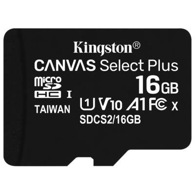 Paměťová karta Kingston Canvas Select Plus 16GB