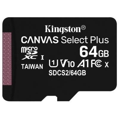 Paměťová karta Kingston Canvas Select Plus 64GB