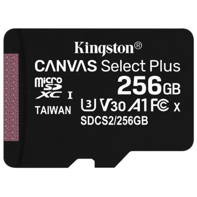Paměťová karta Kingston Canvas Select Plus 256GB