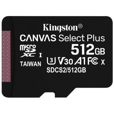 Paměťová karta Kingston Canvas Select Plus 512GB