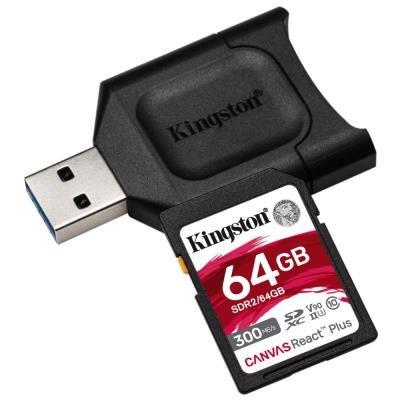 Kingston Canvas React Plus SDXC 64GB