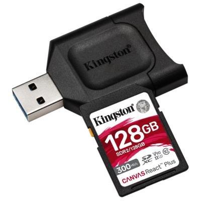 Kingston Canvas React Plus SDXC 128GB