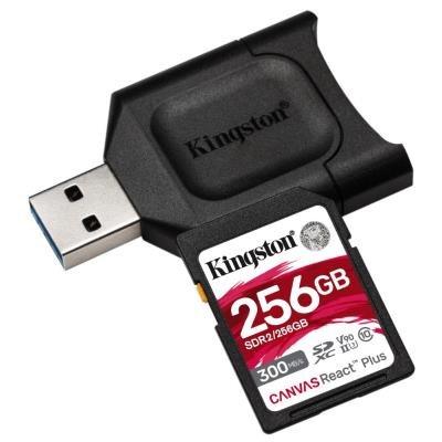 Kingston Canvas React Plus SDXC 256GB
