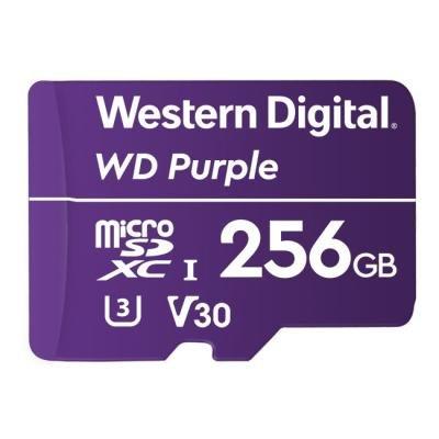Paměťová karta WD Purple MicroSDXC 256GB