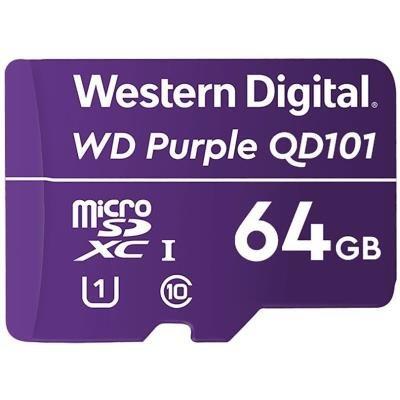 WD Purple MicroSDXC QD101 64GB