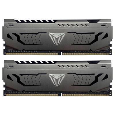 PATRIOT Viper Steel Series V4S 64GB DDR4 3200MHz / DIMM / CL16 / 1,35V / Heat Shield / KIT 2x 32GB