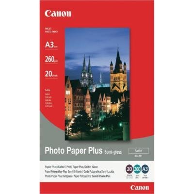 Fotopapír Canon Plus Semi-gloss SG-201 A3 20 ks
