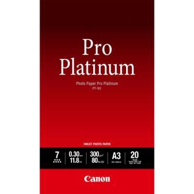 Fotopapír Canon Pro Platinum PT-101 A3