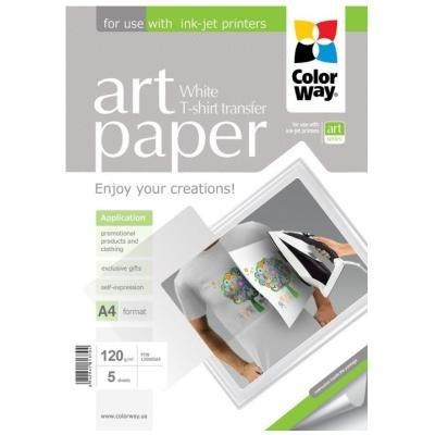 Fotopapír ColorWay Art nažehlovací 5ks