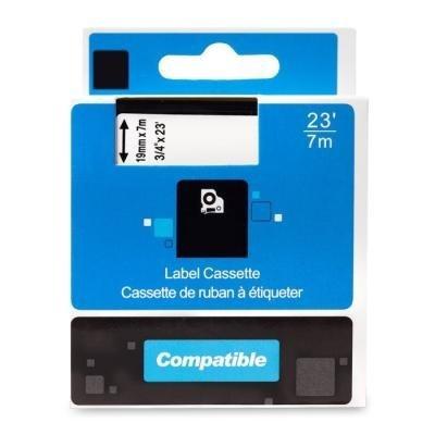 PRINTLINE kompatibilní páska s DYMO 45803 S0720830, 19mm, 7m, černý tisk / bílý podklad, D1