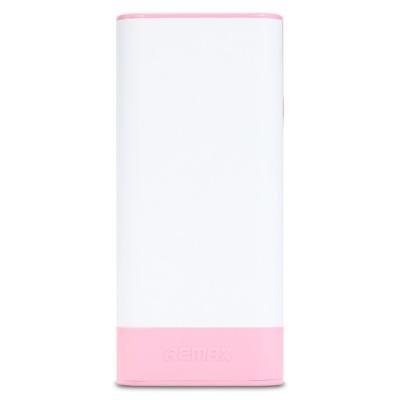PowerBank REMAX RPL-19 bílo - růžová