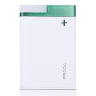 PowerBank REMAX PPL-20 bílo - zelená