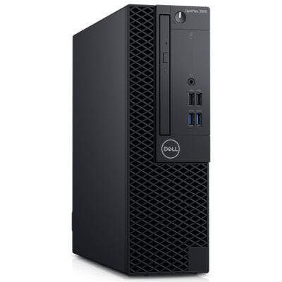 DELL OptiPlex 3060 SFF/ i3-8100/ 4GB/ 500GB (7200)/ DVDRW/ W10Pro/ 3YNBD on-site