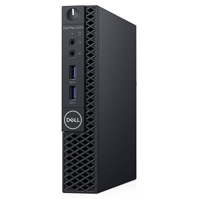 DELL OptiPlex 3070 Micro MFF/ i3-9100T/ 4GB/ 128GB SSD/ Wifi/ W10Pro/ Micro MFF PC/ 3Y Basic on-site