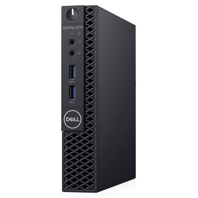 DELL OptiPlex 3070 Micro MFF/ i5-9500T/ 8GB/ 256GB SSD/ Wifi/ W10Pro/ Micro MFF PC/ 3Y Basic on-site