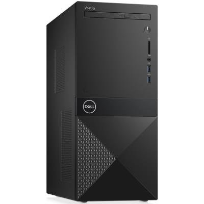 DELL Vostro 3670/ i3-9100/ 8GB/ 256GB SSD/ DVDRW/ Wifi/ W10Pro/ 3Y Basic on-site