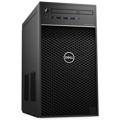 DELL Precision T3630/ i7-9700K/ 16GB/ 512GB SSD + 2TB (5400)/ Quadro P2200/ vPro/ W10Pro/  3Y PS on-site